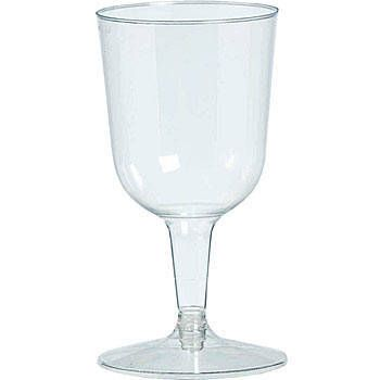 I worry about these looking cheap, BUT since the 1920s was the Prohibition era, wine glasses would fit in great.