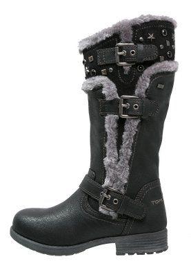 Vinterstøvler - svart fra Zalando