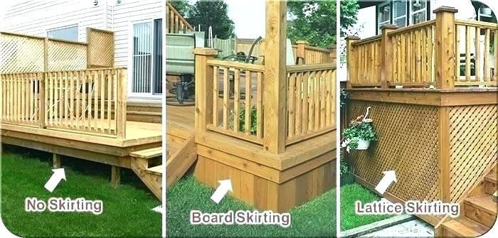 Image Result For Lattice Board Designs Wood Deck Sloped Backyard Backyard Patio Designs