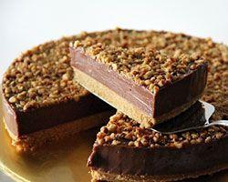 Nutella Cheesecake - Easy Recipes at http://RasaMalaysia.com