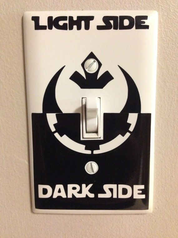 Star Wars Light Side Decal 2 featuring Rebel Alliance and Empire symbols.