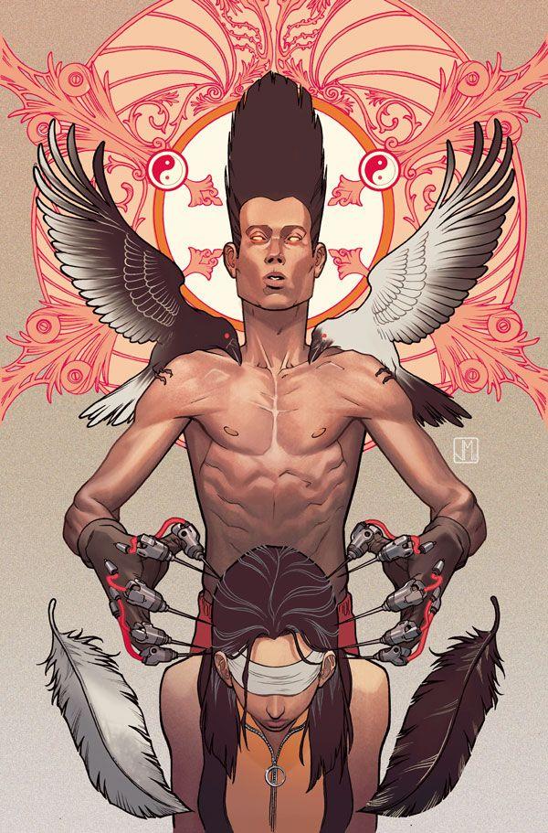 X-Men Legacy #5 - digital painting by Jorge Molina
