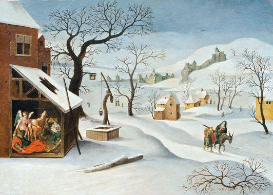 Un dossier sur la neige dans les arts : présentation chronologique des tableaux, poèmes, albums, et plein d'idées d'activités !