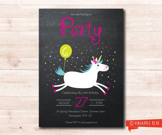 De partij van de verjaardag van de Eenhoorn  Aangepaste