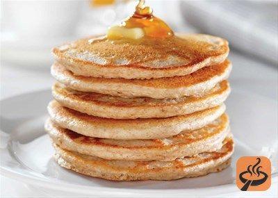Yogurt Rice Flour Pancakes (gluten free) recipe