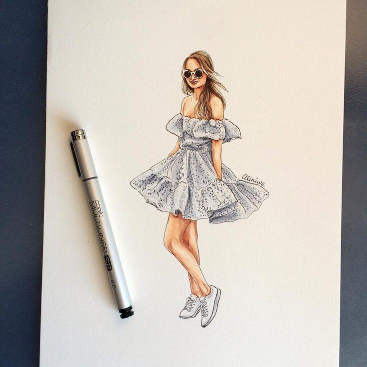 https://www.etsy.com/shop/LOOKillustrated Alina Girdhar(LOOKillustrated) (@aliniwe) •  fashion illustration, fashion sketch, custom portrait, custom fashion illustration, street style, street fashion