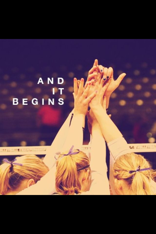 Motivation for volleyball.