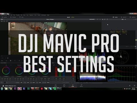Best Mavic Picture & Sharpness Settings - DJI Mavic Pro Photo Style Tutorial for D-Log, D-Cinelike.. - ISO 1200 | Photography Video blog for photographers