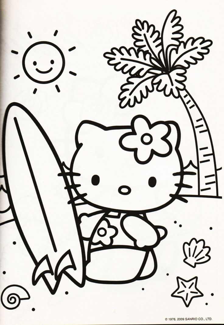 Hello Kitty Kitchen Coloring Pages : Best images about coloring hello kitty on pinterest