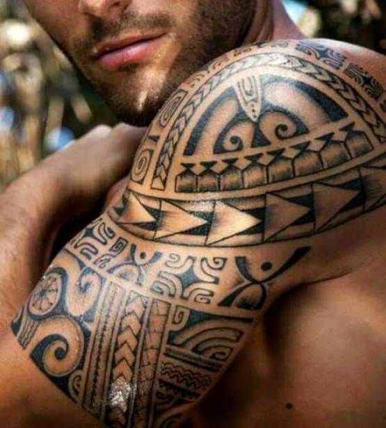 24 Tribal Shoulder Tattoo Designs Ideas: Best 25+ Mens Shoulder Tattoo Ideas On Pinterest