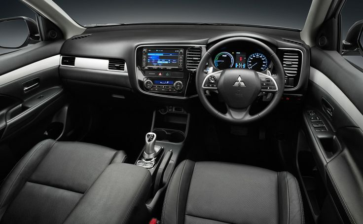Clean interior. Clean drive. With zero emissions in EV mode. #Outlander #PHEV