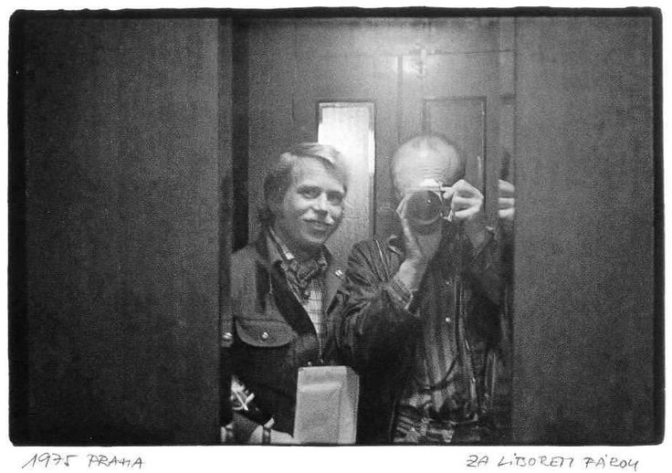 OFF TO SEE LIBOR FARA  Prague 1975
