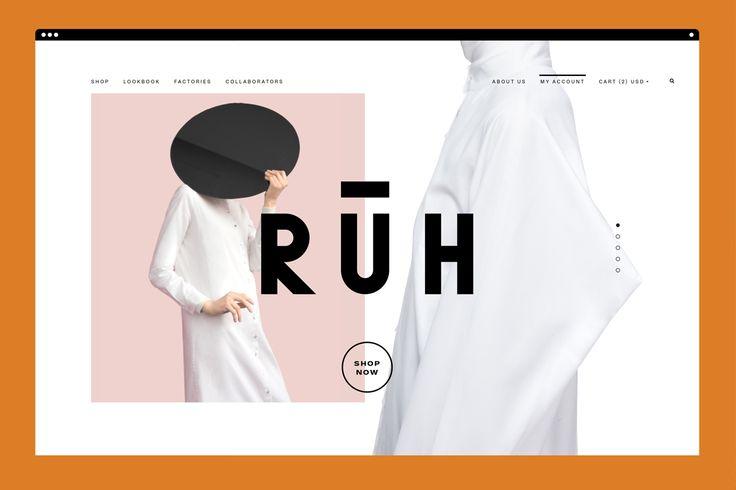 RŪH on Behance