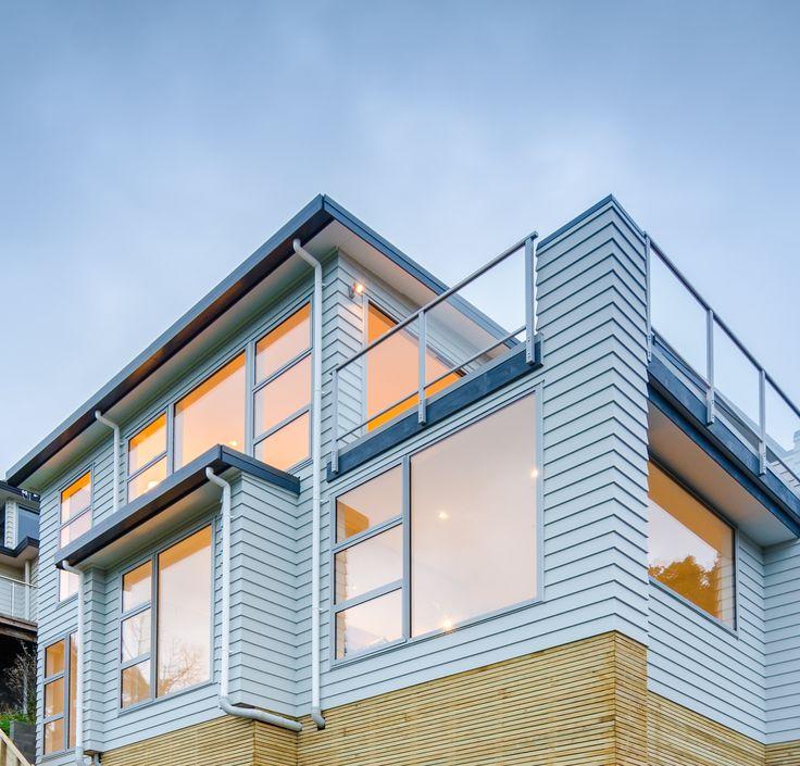 David Reid Homes 2014 Executive Home | Exterior clad in Linea weatherboard