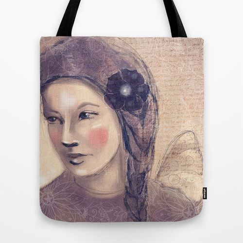 Angel of wisdom Tote Bag