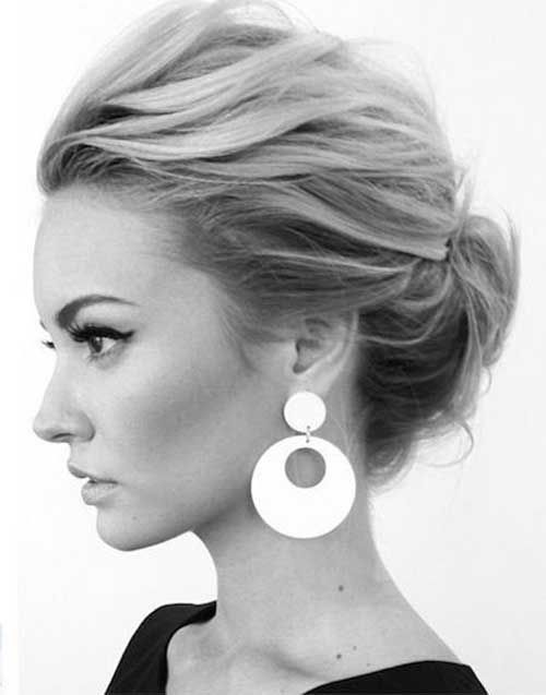 Pleasant 1000 Ideas About Fine Hair Updo On Pinterest Medium Length Updo Short Hairstyles Gunalazisus
