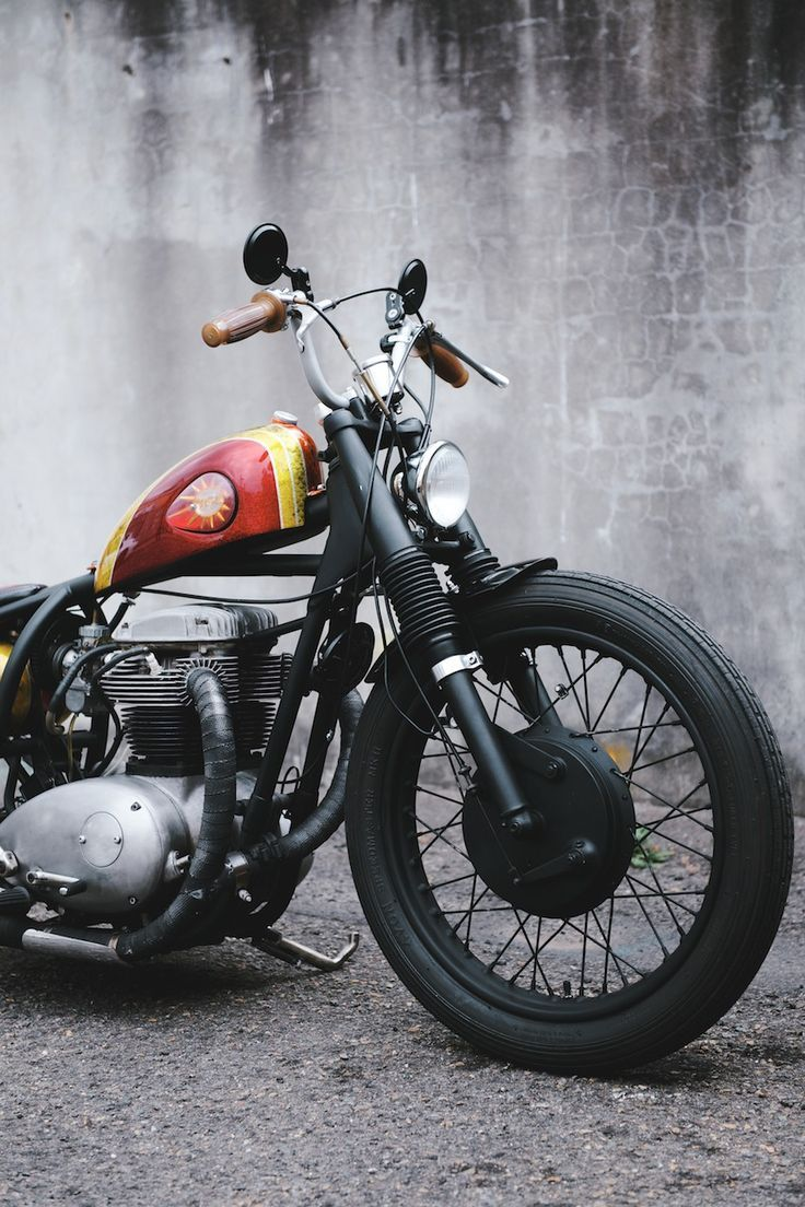 117 Best Bobbers And Ideas Images On Pinterest Motorbikes Chopper The Above Picture Shows Honda Cb100 Pictorial Diagram It Angry Wasp By Deus Ex Machina Make Bsa A65 Lightning Source