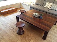 施工事例集 - AD WORLD Oak Vintage LUOSTO, brushed wax oiled in Tokyo, Japan.   Tammi Vintage LUOSTO, harjattu öljyvahattu Tokiossa, Japanissa.