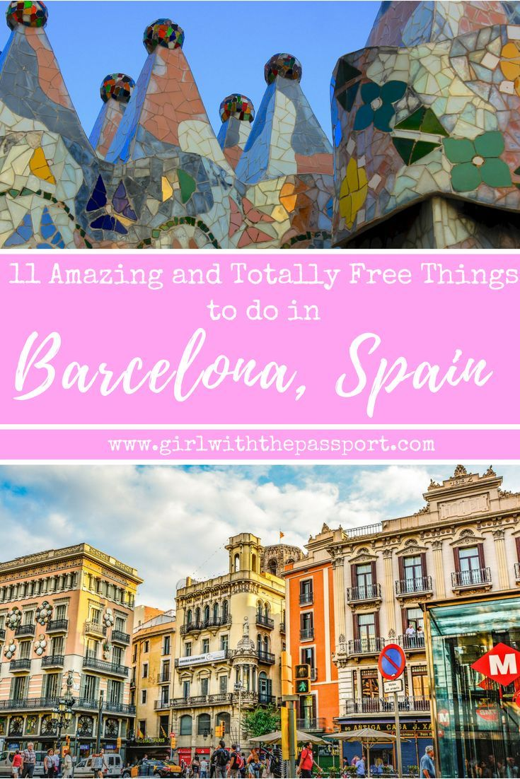 Free Barcelona Spain Attractions A Financially Unstable