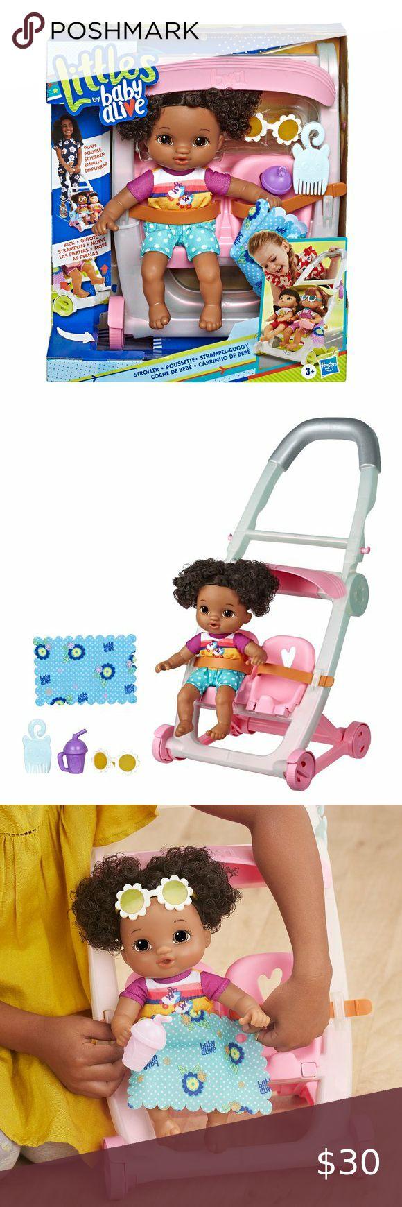 Baby Alive, Push 'n Kick Stroller, Little Lola in 2020