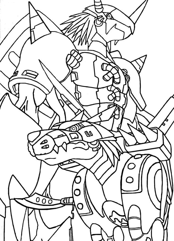 Mejores 520 Im 225 Genes De Lineart Digimon En Pinterest