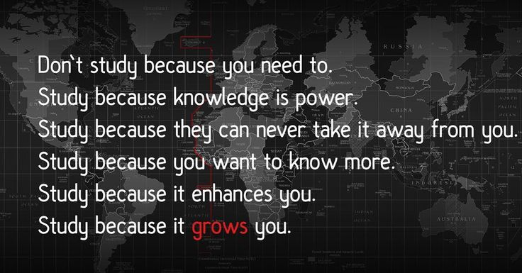 Knowledge is power // follow us @motivation2study for daily inspiration