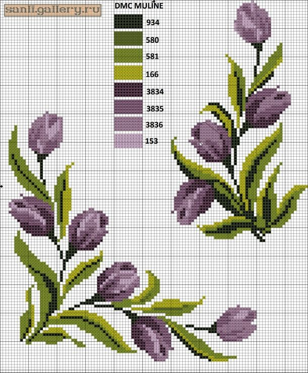 (9) Gallery.ru / Фото #4 - crossstitch mix - sanli