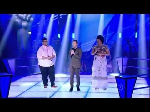 Deena Love do time Lulu Santos no The Voice Brasil da Rede Globo1