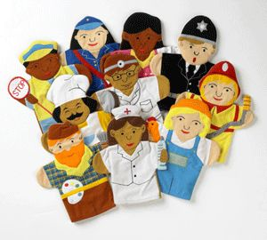 hand puppets | GER Hand Puppets : Cambridge Educational Toys, Puppets, Masks, Books ...