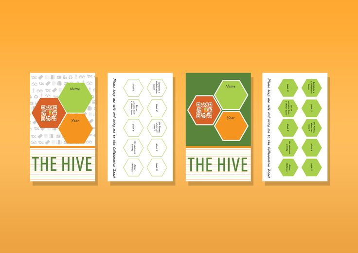 2016: Loyalty card for The Hive