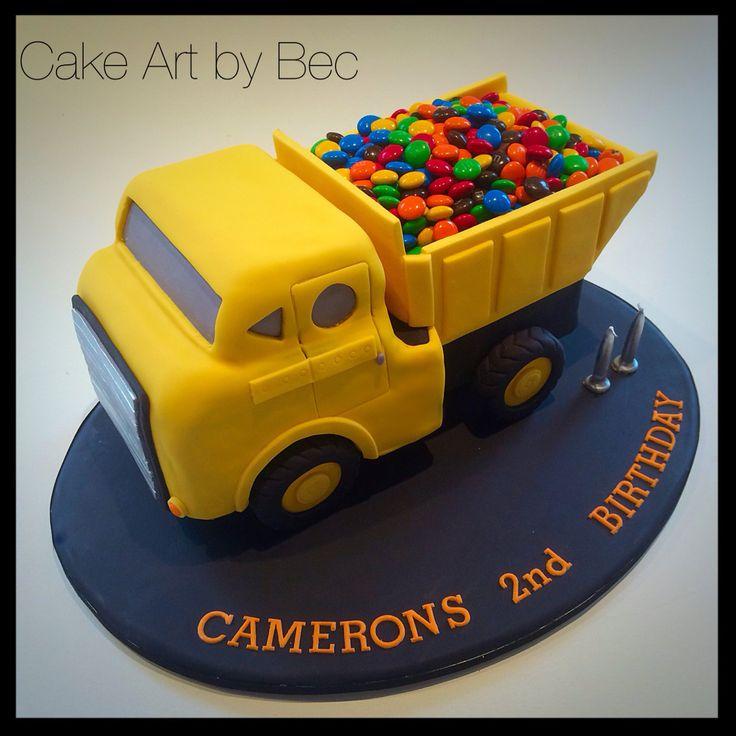 Cake Art By Bec : 1000 idees sur le theme Tonka Truck Cake sur Pinterest ...