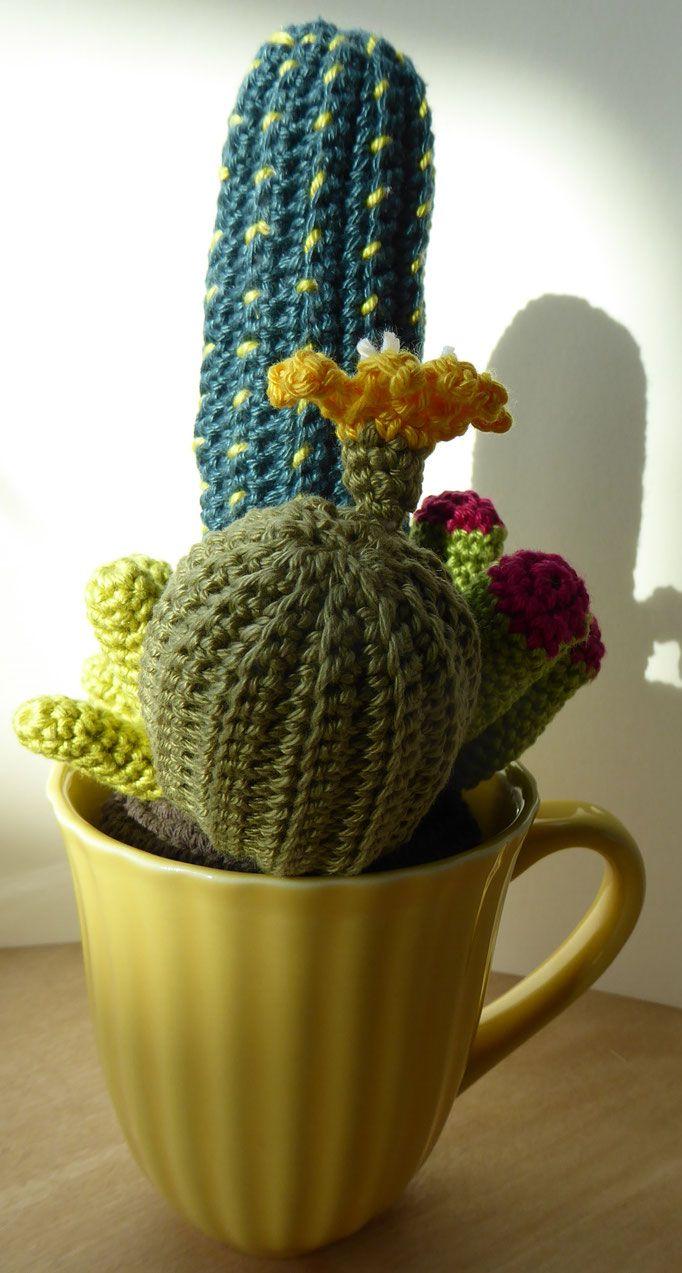 Schmuck Uli Fritz Kunst Und Textiles Cactus Kakteen Häkeln