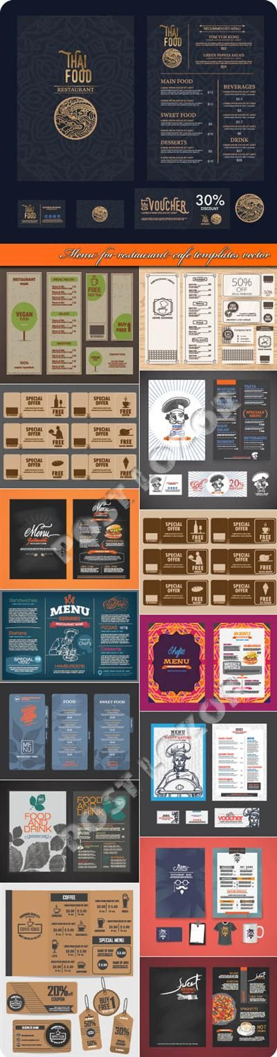 432 best Free Graphics images on Pinterest Free graphics - cafe menu templates free download