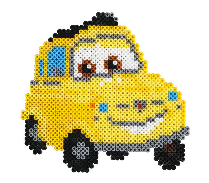 Cars character Hama beads