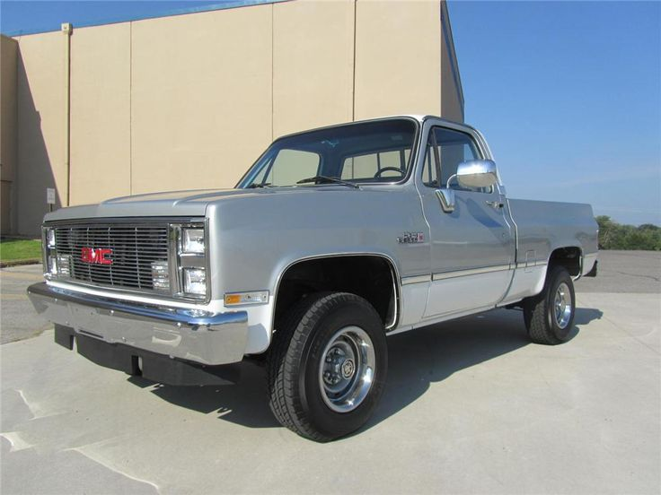 1984 GMC SIERRA 1500 CUSTOM PICKUP - Barrett-Jackson Auction Company