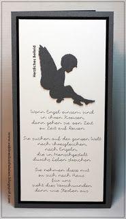 Stampin Up, Trauerkarten, Alexandra Renke,