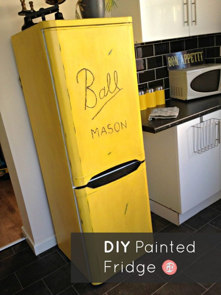 1000 ideas about painted fridge on pinterest paint fridge fridge makeover and paint refrigerator. Black Bedroom Furniture Sets. Home Design Ideas