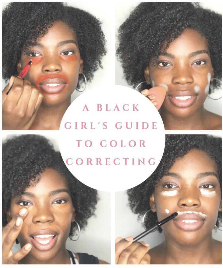 Black Girls Guide The Do S And Don Ts Of Color Correcting Concealer For Dark Skin Color Correct Dark Circles Color Correcting Concealer