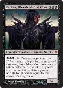 Magic: the Gathering - Kalitas, Bloodchief of Ghet (99) - Zendikar