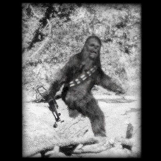Bigfoot Chewbacca T-Shirt #StarWars #Chewbacca
