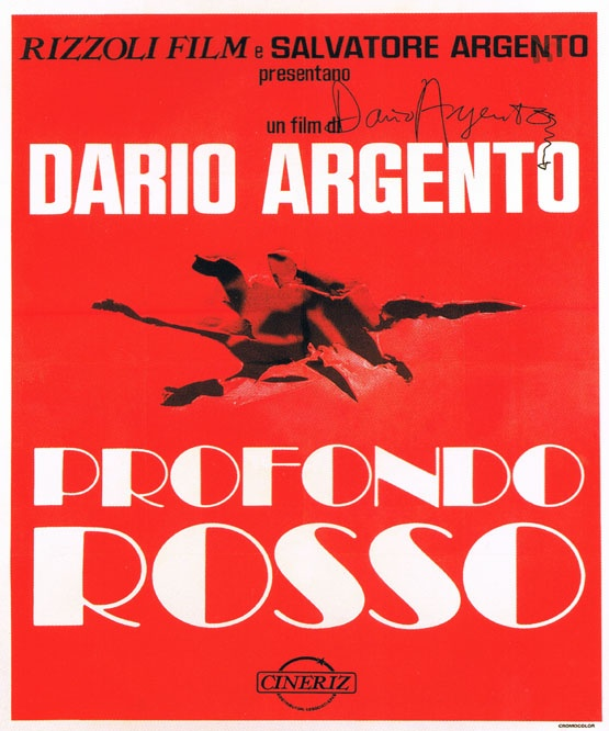 Profondo Rosso - Dario Argento | Movie Posters | Pinterest