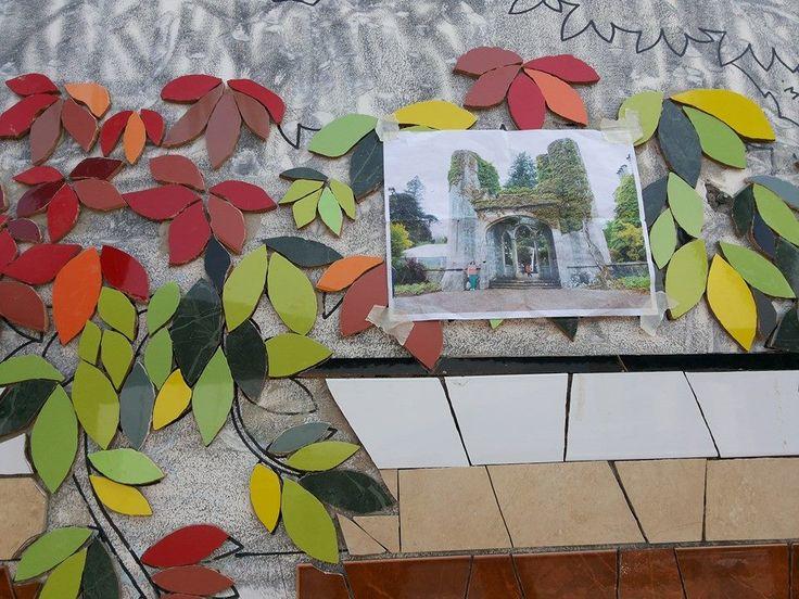enredadera mosaico municipalidad de puente alto