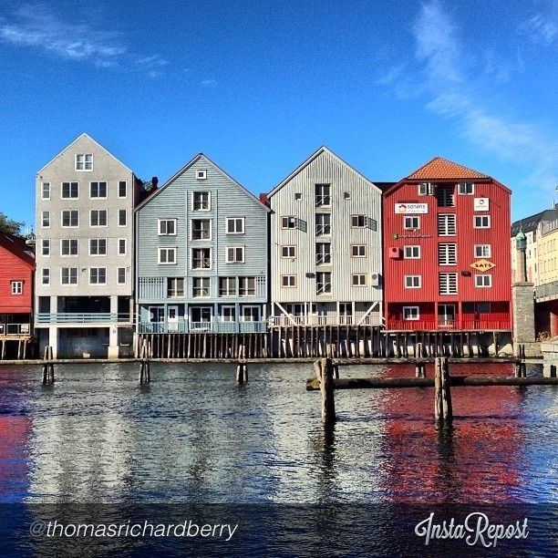 Trondheim - Instagram photo by @thomasrichardberry #travel #norway