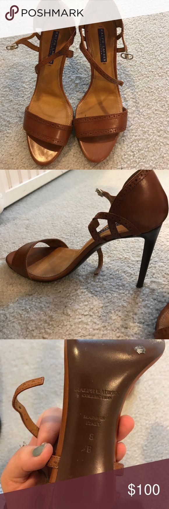 Ralph Lauren collection heels Ralph Lauren collection heels in great condition Ralph Lauren Shoes Heels