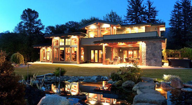 Beautiful modern craftsman style Outside Vancouver BC