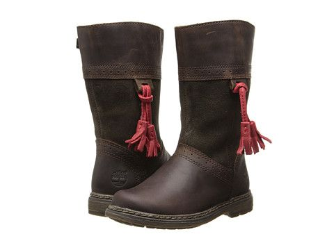 Timberland Kids Earthkeepers® Amesbury Tall Boot (Toddler/Little Kid) Dark Brown - Zappos.com Free Shipping BOTH Ways