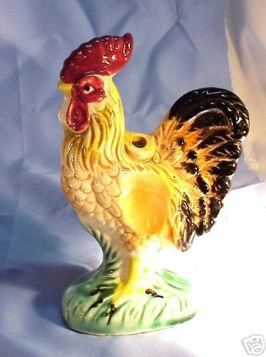 Image detail for -Vintage Japanese Ceramic Pottery Rooster Cock ...
