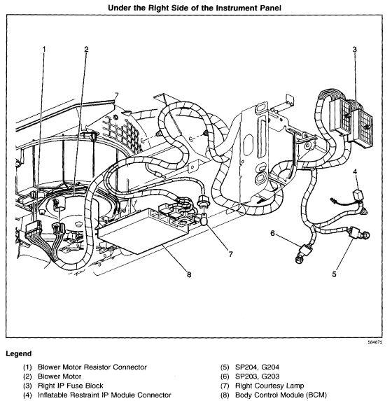 2001 Chevy Impala Bcm Location. Wiring. Automotive Wiring ...