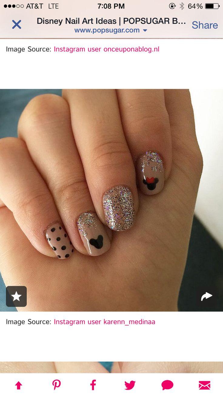 1100 best Disney Nails images on Pinterest   Disney nails art ...