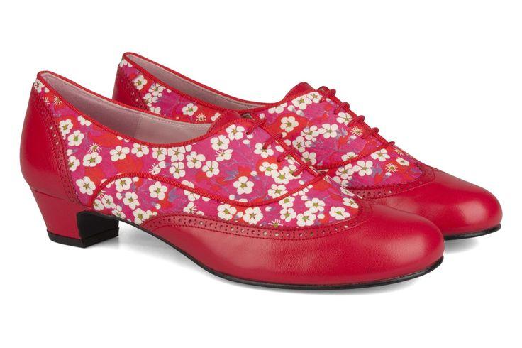 Dave Annabel Winship (Rouge) : livraison gratuite de vos Chaussures à lacets Dave Annabel Winship chez Sarenza